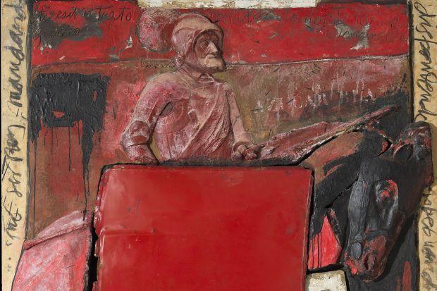 """""""Carlos I"""" (fragment) de Miguel Zapata. Col·lecció Bassat 1990 1999 (I)"""