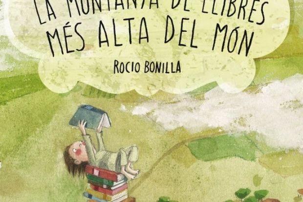 """""""La muntanya de llibres més alta del món"""", de Rocio Bonilla"""