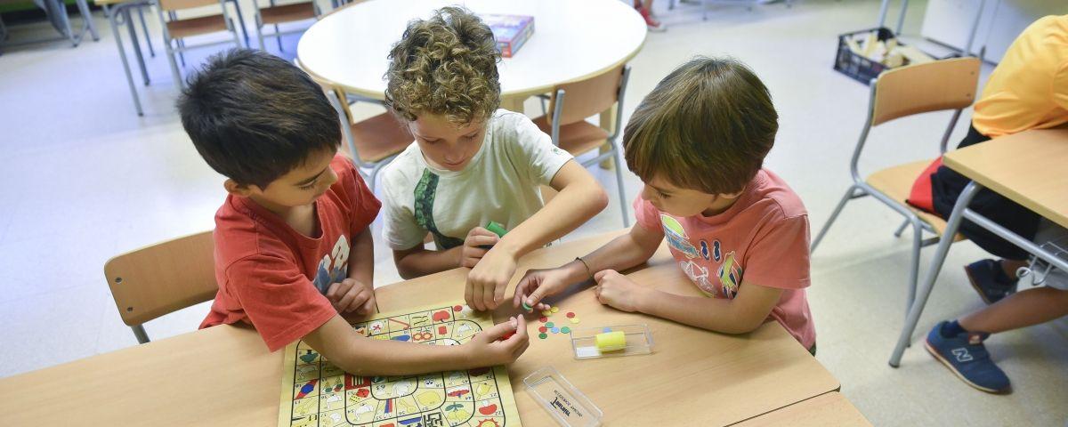 Infants a una escola primària. Foto: R. Gallofré
