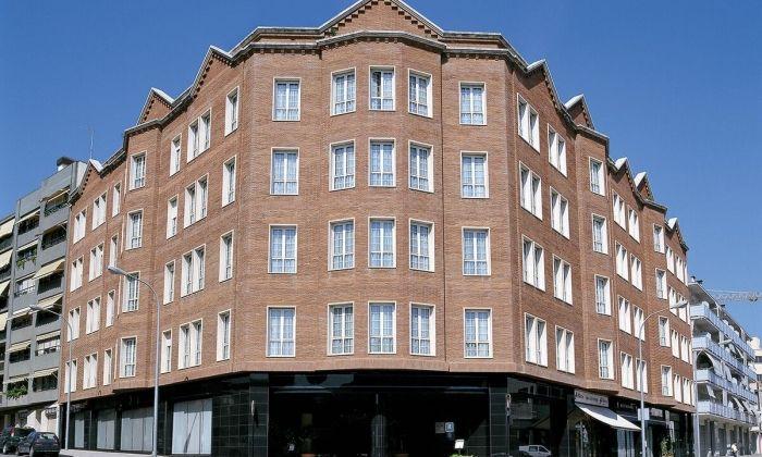 Façana del URH Hotel Ciutat de Mataró. Foto: URH Mataró
