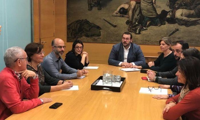 Reunió amb la vicepresidenta segona de la Diputació de Barcelona. Foto: Ajuntament de Mataró