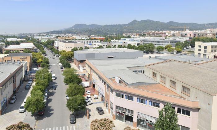 Polígon industrial del Pla d'en Boet. Foto: R. Gallofré