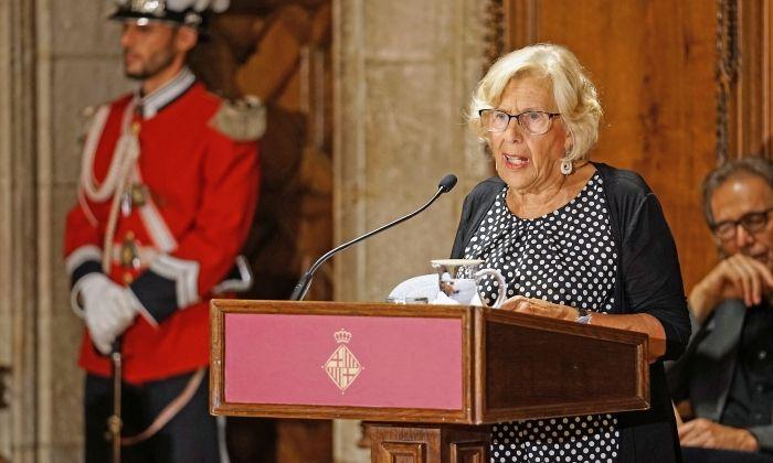 L'exalcaldessa de Madrid, Manuela Carmena. Foto: ACN