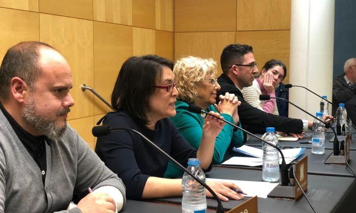 Un moment de la conferència. Foto: ECP