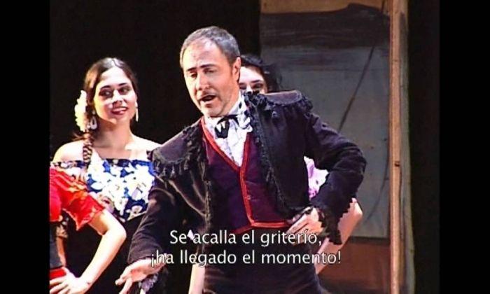 """Lluís Sintes a """"Carmen"""""""