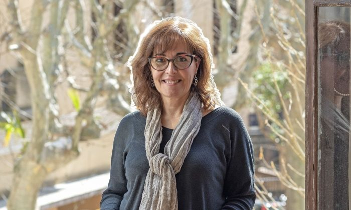 La regidora de Cultura, Maria José Pérez