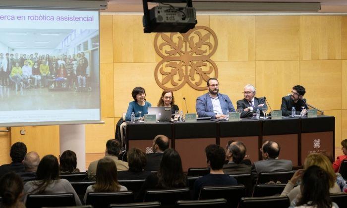 Presentació de la Càtedra d'Envelliment i Qualitat de Vida. Foto: R. Gallofré