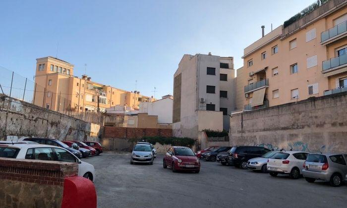 El nou aparcament a Rocafonda. Foto: Ajuntament