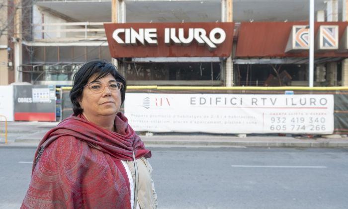 La Maria Teresa va ser taquillera del cinema Iluro durant set anys. Foto: R. Gallofré