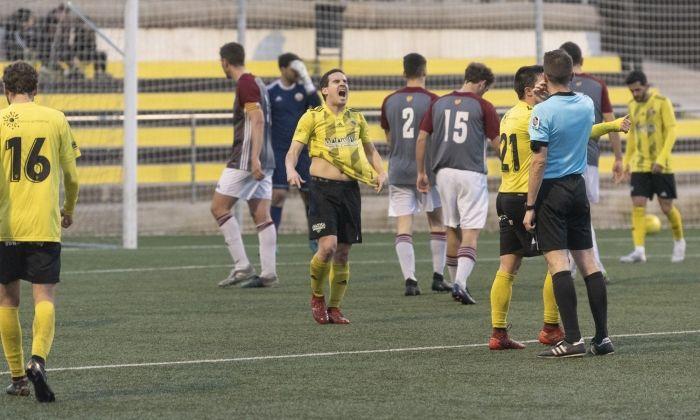El Mataró no troba el camí del gol. Foto: R.Gallofré