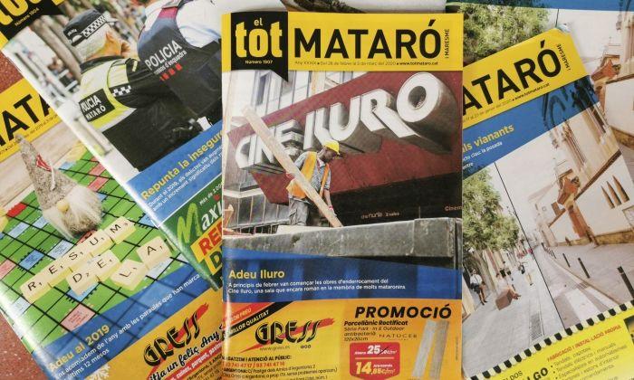 Portades d'El Tot Mataró