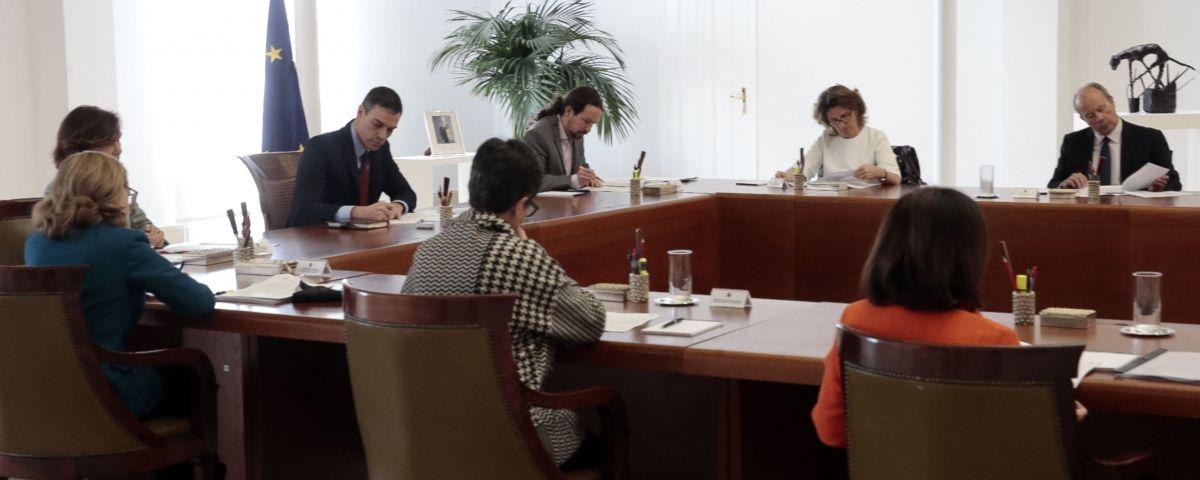 Reunió del Consell de Ministres. Foto: ACN
