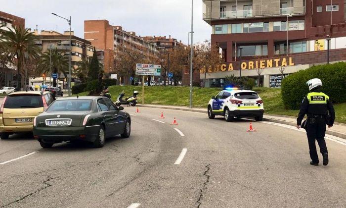Controls de la Policia Local aquest dimarts a la plaça Itàlia