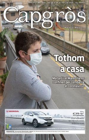 La cobertura de Capgròs sobre el coronavirus, des de casa.