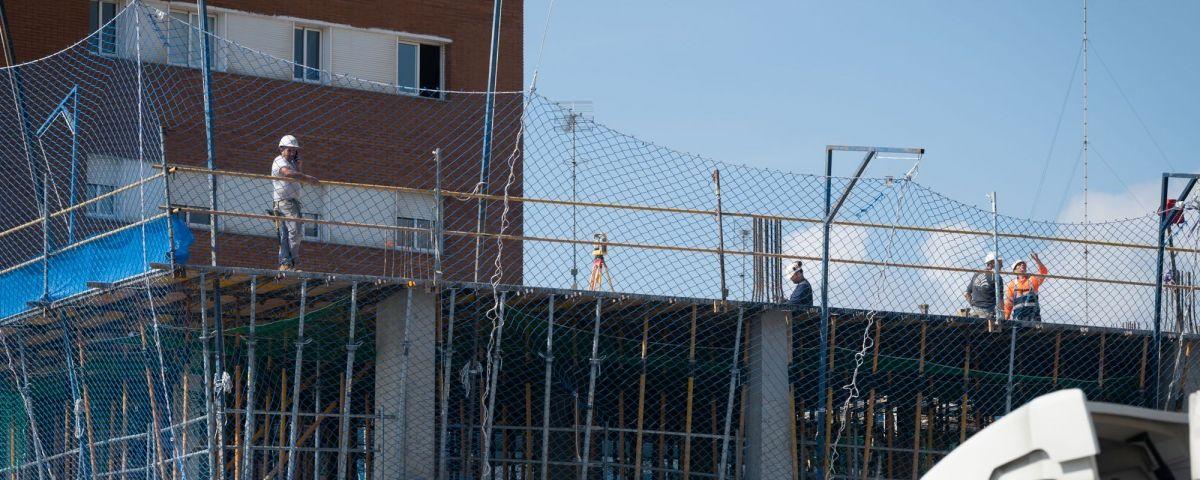 Els efectes del Covid-19 al sector de la construcció. Foto: R.Gallofré