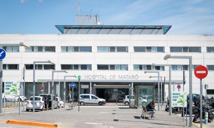 L'Hospital de Mataró, en lluita contra el coronavirus. Foto: R.Gallofré