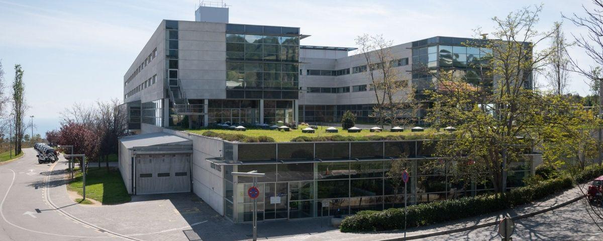 Vista de l'Hospital de Mataró. Foto: R.Gallofré