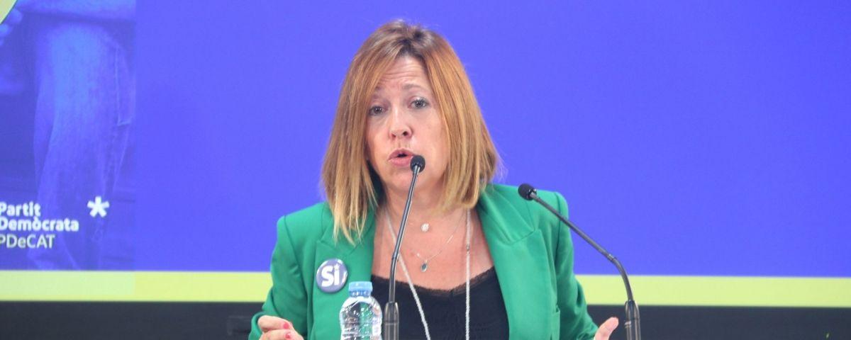 Montserrat Candini, alcaldessa de Calella, en una imatge d'arxiu. Foto: ACN