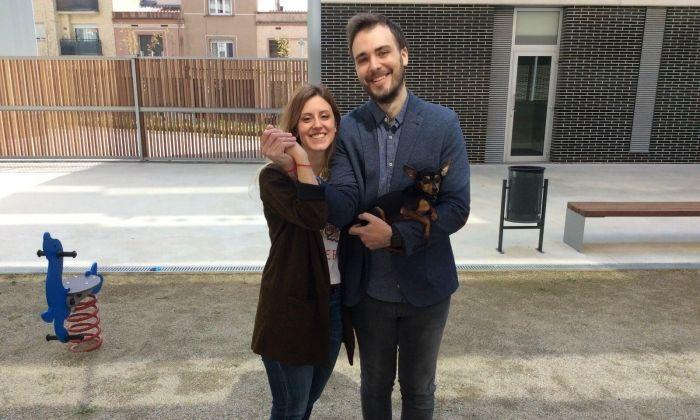 Una parella de Mataró, casada entre veïns.