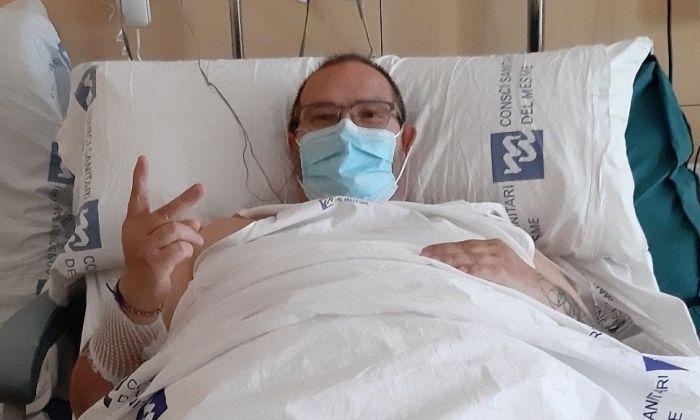 Pere Torner, a l'Hospital de Mataró