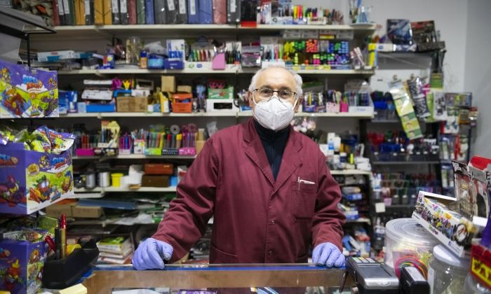 Jesús Ortego, a la llibreria Maresme de Mataró