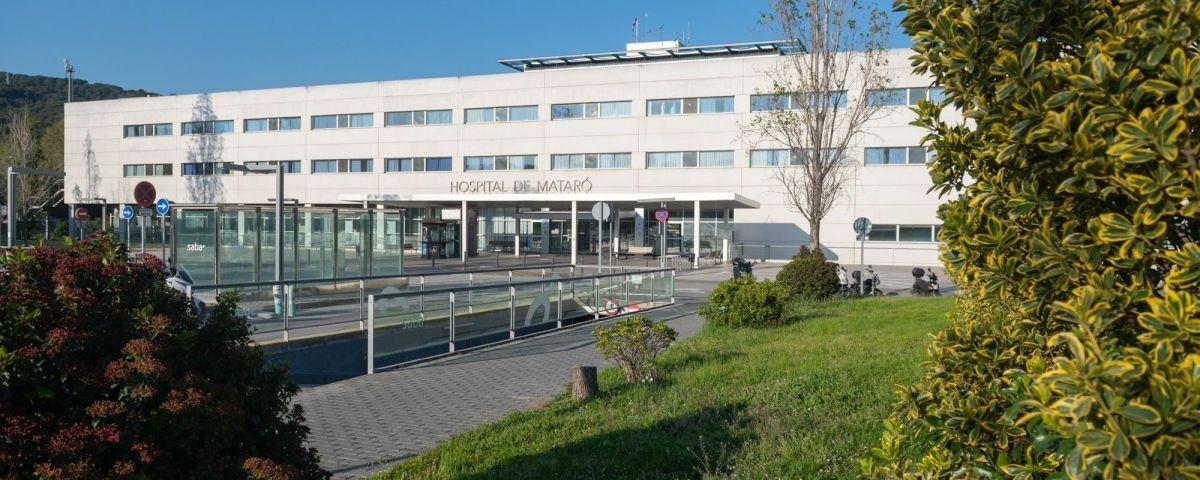 L'Hospital de Mataró durant la pandèmia de coronavirus. Foto  R.Gallofré 5