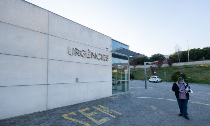 L'Hospital de Mataró segueix en lluita pel coronavirus.  Foto  R.Gallofré 8