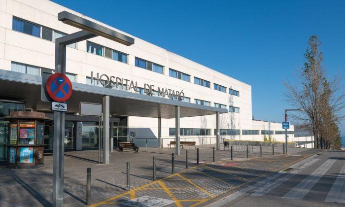 L'Hospital de Mataró segueix lluitant amb el Covid-19. Foto  R.Gallofré