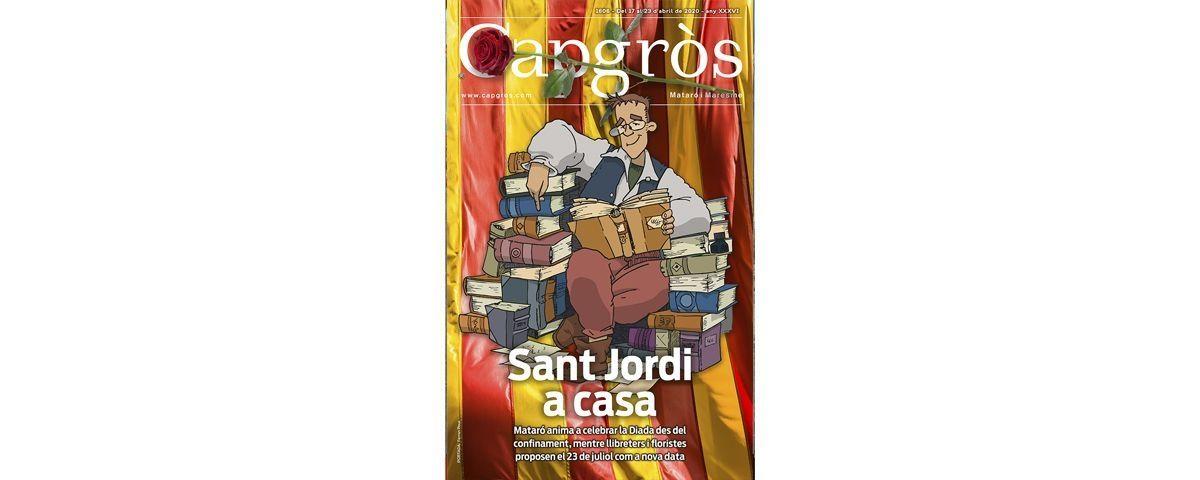 Capgròs amb Sant Jordi a portada.