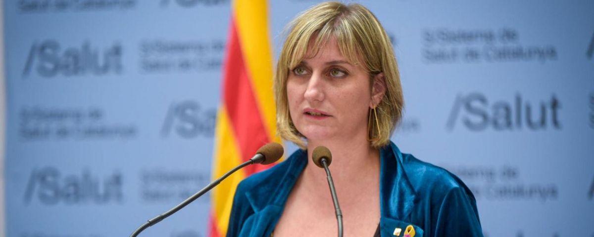 La Consellera de Salut, Alba Vergés. Foto: ACN