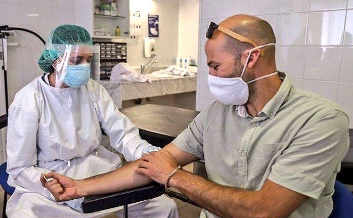 Estudi sobre el coronavirus amb veïns d'Òrrius. Foto: Consorci Sanitari Maresme
