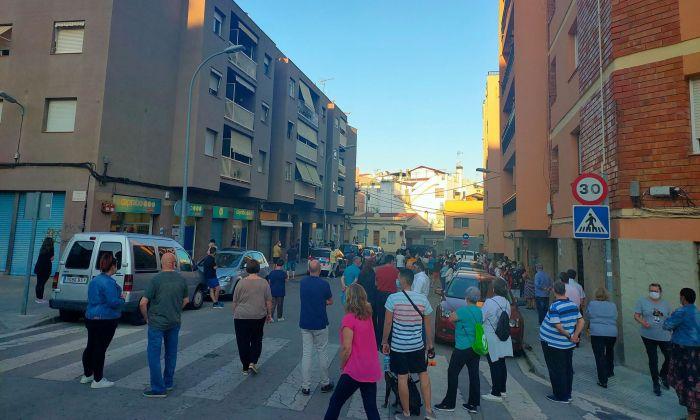 Manifestació als Molins contra una de les ocupacions