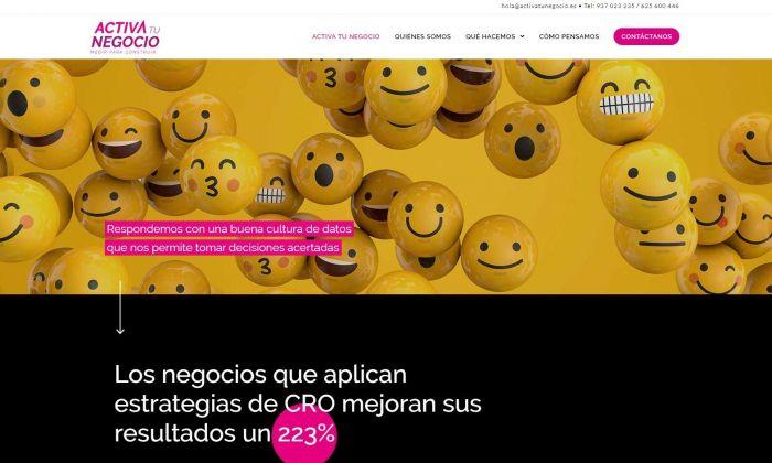 El portal activatunegocio.es