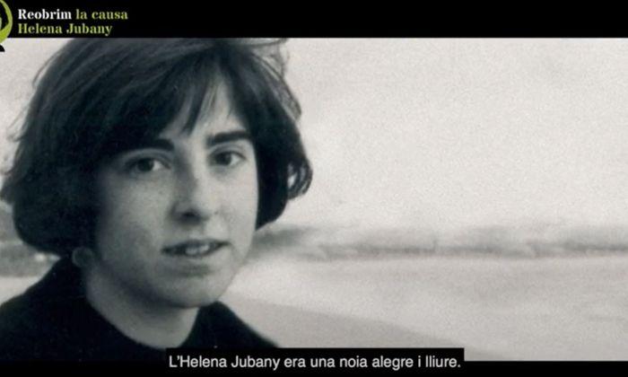Fragment de vídeo de la campanya 'Reobrim la causa Helena Jubany'