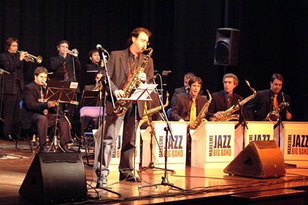 Un concert de la Big Band al Foment
