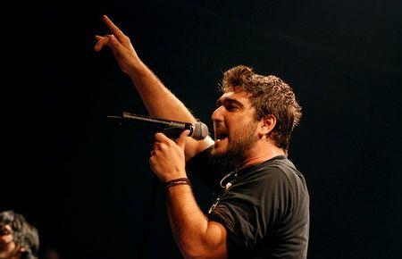 Orozco, en un moment del concert