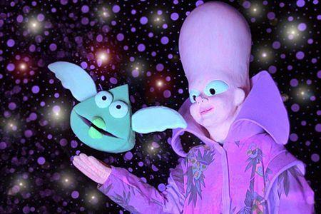 Una imatge de l'obra La Via Làctia