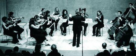 Camerart-Orquestra del Maresme en un concert