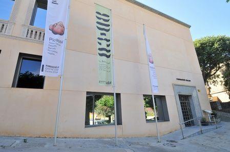 Façana de la Fundació Palau a Caldes d'Estrac